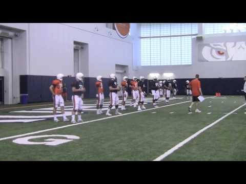 Auburn practice 8-7-12