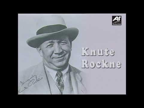Knute Rockne - Klippen fra Norge