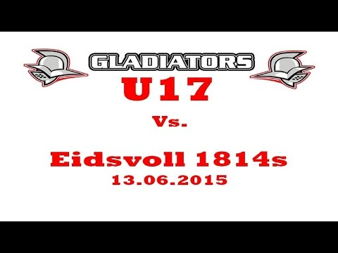 Kristiansand Gladiators vs Eidsvoll 1814s