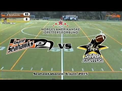 Åsane Seahawks vs Lillestrøm Starfighters
