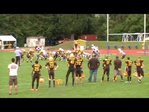 Michael Hall Highlights LB,SS, Kicker, Punter 2013 Ravensburg Razorbacks