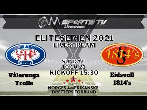 Eliteserien Livestream 10.10.21 | Vålerenga Trolls vs. Eidsvoll 1814's