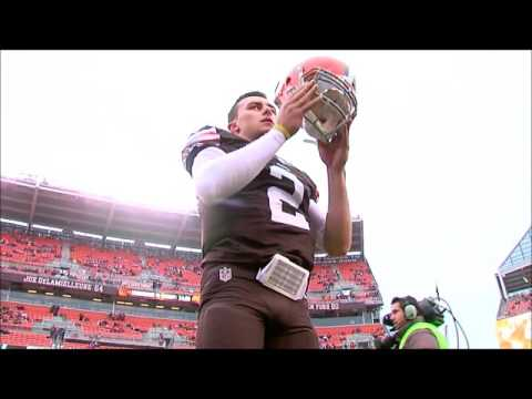 A Cleveland Browns Johnny Manziel Farewell Tribute