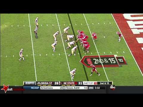 Jacoby Brissett (QB NC State) vs FSU 2014