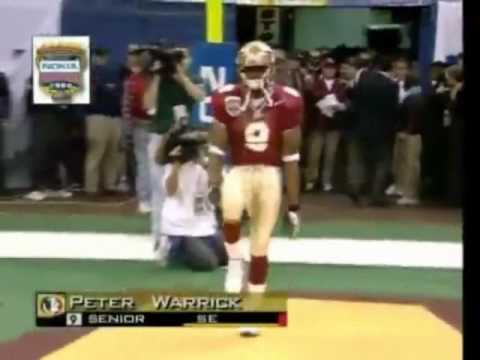 Peter Warrick - The Most Elusive College Football Player Ever