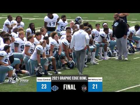 2021 Graphic Edge Bowl: Iowa Central Tritons vs New Mexico Military Institute Broncos