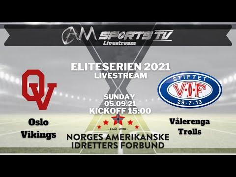 Eliteserien Livestream 05.09.21   Oslo Vikings vs. Vålerenga Trolls