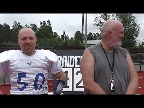 Intervju etter kamp - Tønsberg vs Kolbotn Hunters