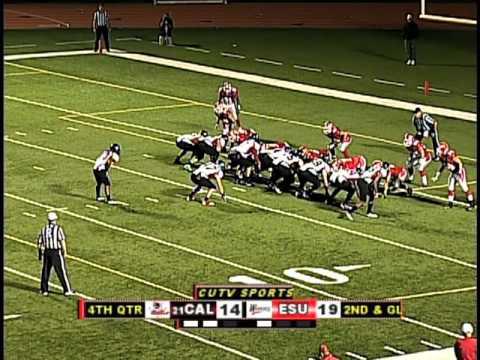 2011: California Vulcans @ E. Stroudsburg Warriors - Football - 9/17/11