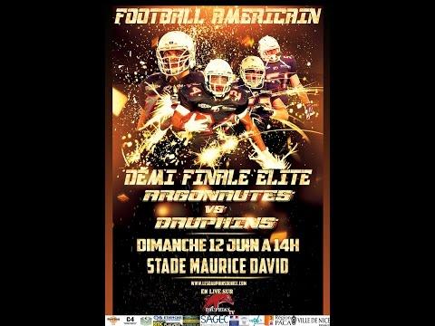 Demi Finale Elite 2016 Argonautes/Dauphins