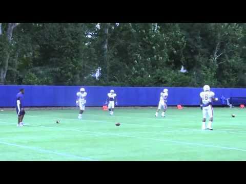 Auburn practice 8-6-12