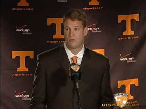 Tennessee Introduces Lane Kiffin - 12/01