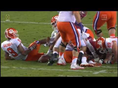 (CFP National Championship) Clemson Tigers vs Alabama Crimson Tide in 40 Minutes - 1/9/17