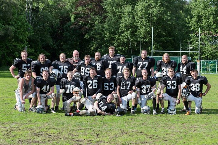 Lagbilde Tønsberg Raiders