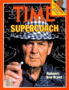 Bear Bryant supercoach