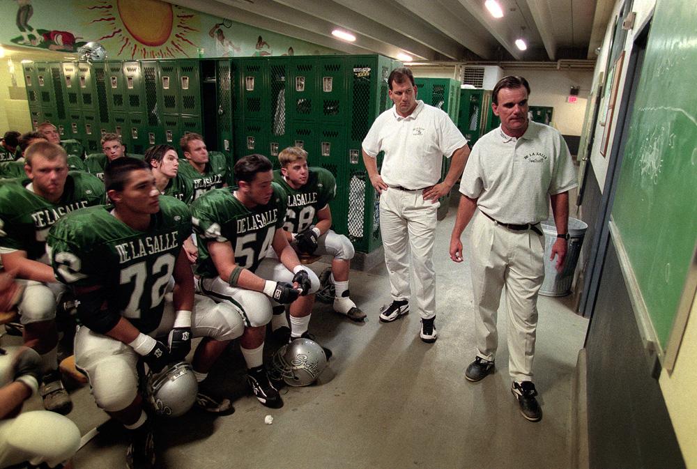 De La Salle locker room 1997 - Brad Mangin