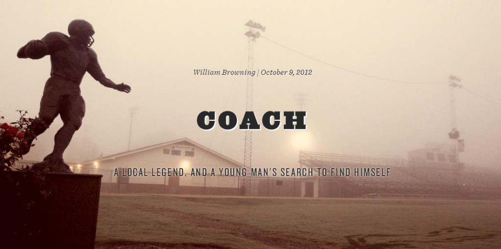 William Browning - Coach article SB Nation
