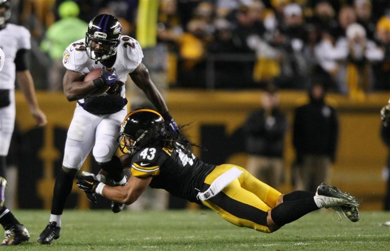 Justin Forsett har vist seg som en svært god RB. Kan han ta Ravens hele veien?