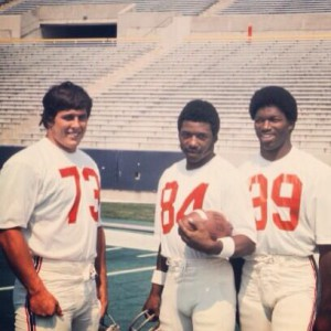 John Hannah, Darryl Stingley og Sam Cunningham