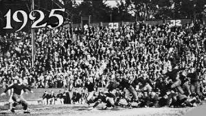 East West Shrine Game 1925