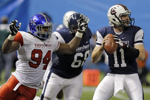 East West Shrine game 2015 action