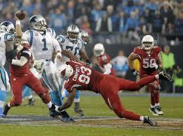 Cam Newton klarte det Cardinals ikke klarte: Å komme seg fremover på banen.