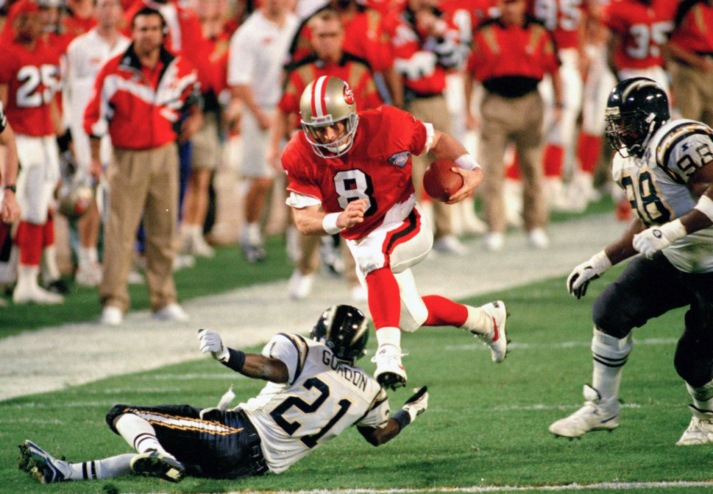Super Bowl XXIX - Steve Young run