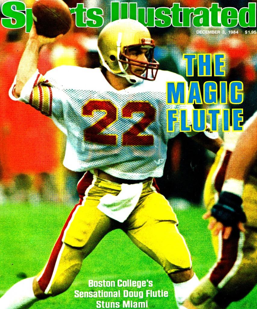 Doug Flutie SI cover Boston College