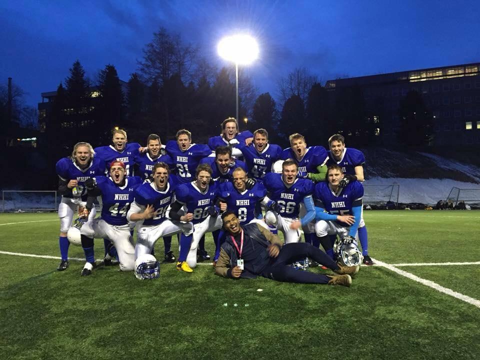NHHI Amerikansk Fotball Studentlekene 2015