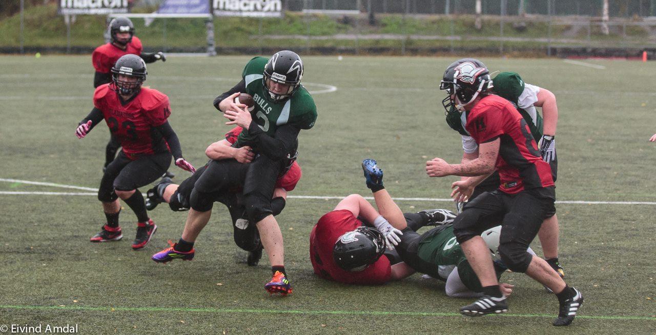 Bulls vs Glads U19 2014 foto av Eivind Amdal
