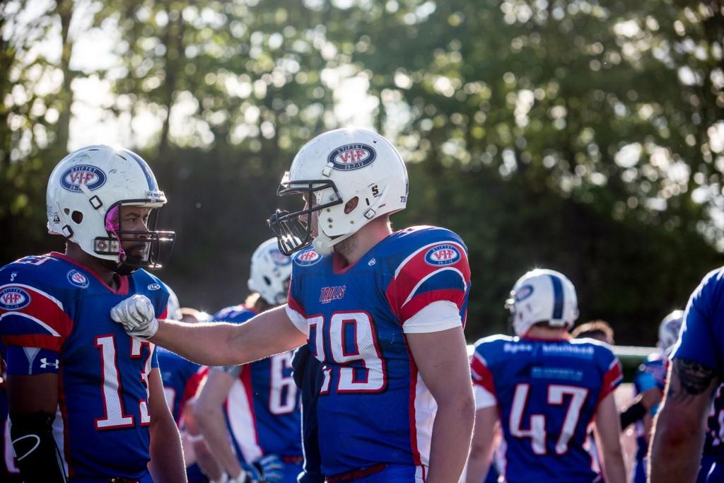 FNL Vikings vs Trolls 2014 - foto Max Emanuelson
