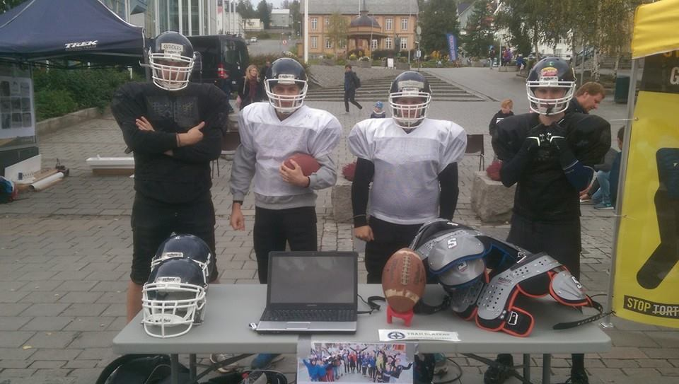 Tromsø Trailblazers på rekrutteringsstien