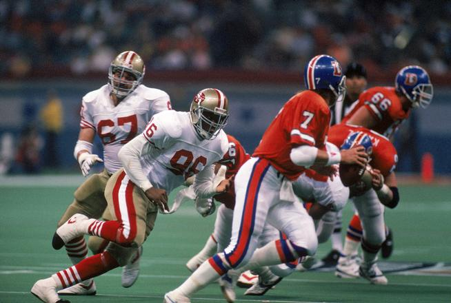 Super Bowl XXIV: San Francisco 49ers vs. Denver Broncos