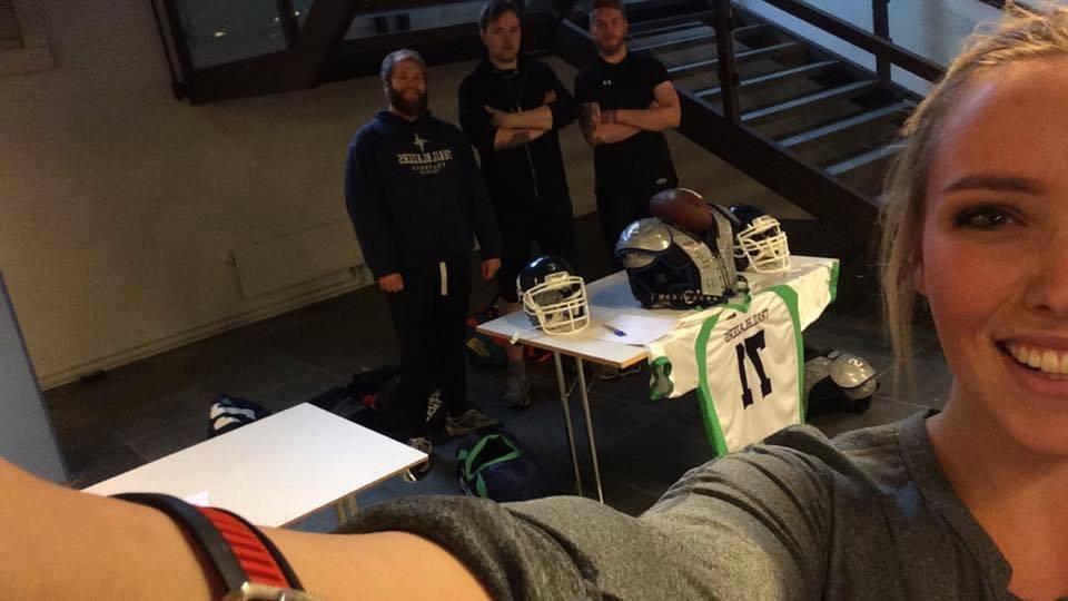 Tromsø Trailblazers rekruttering høsten 2015