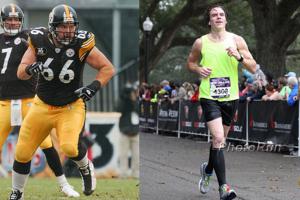 Etter NFL-karrieren mistet Faneca en god del kilo og begynte å løpe maraton.
