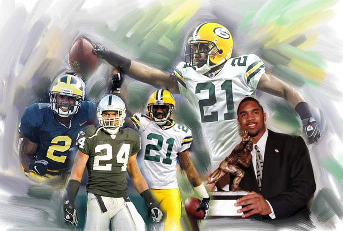 Charles Woodson - through the years