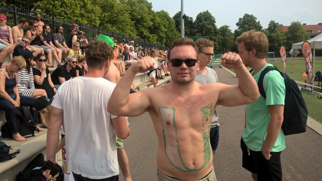 Fans på NM-finalen - foto JM Henriksen