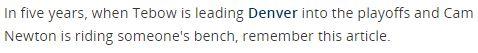 Jim Folsom sin fantastiske avslutning i 2011-artikkelen