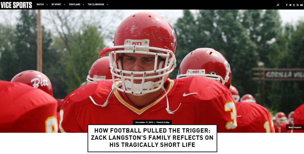 Vice Sports - Zack Langston