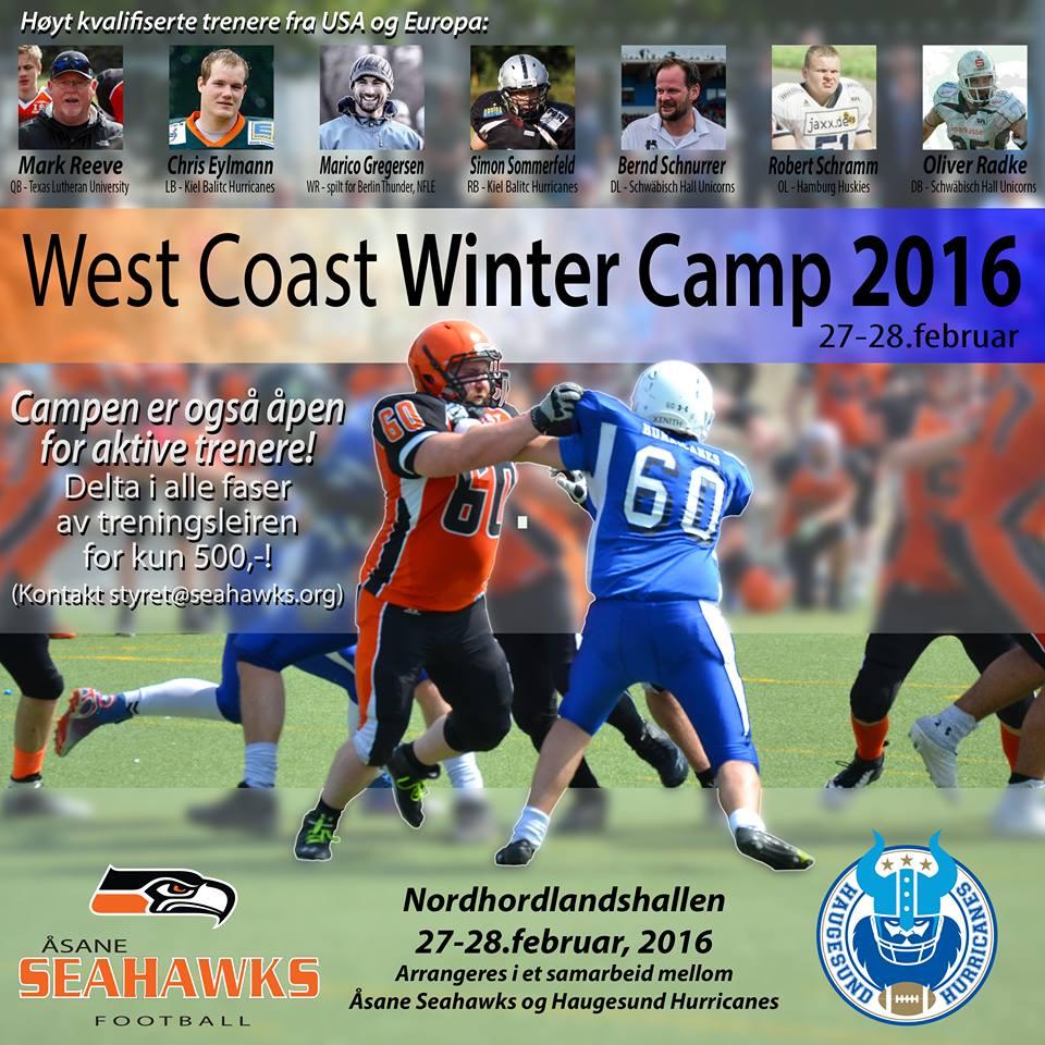 West Coast Winter Camp 2016