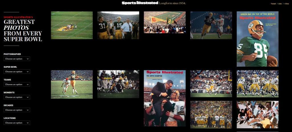 Sports Illustrated - tidenes SB-fotoer