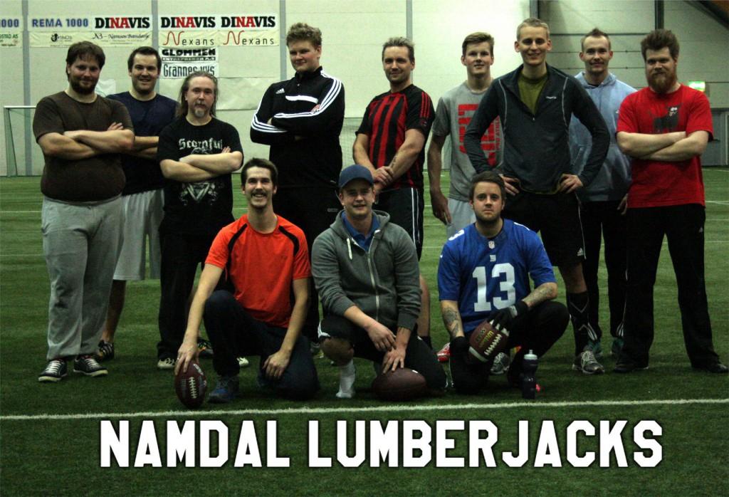 Namdal Lumberjacks - foto Namsos Amerikansk Fotball Klubb