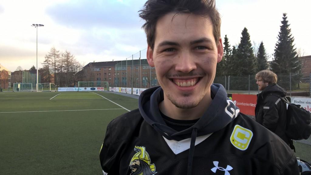 Norsk college-fotball feb 2016 - Mathias Bruset