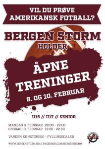 Bergen Storm rekrutterer 2016