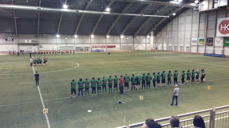 Einherjar vs Seahawks - foto Thor Johannesson