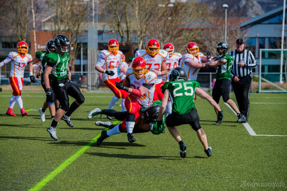 Bulls vs 1814s 2016 a - foto Kristoffer Andreassen