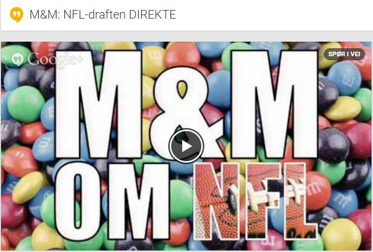 M og M direkte draft 2016