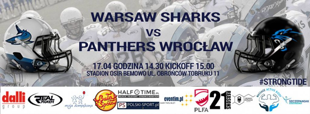 Warsaw Sharks vs Wroclaw Panthers 2016
