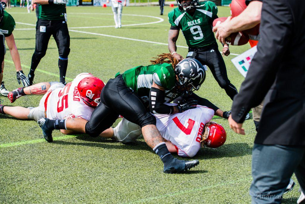 Bulls vs. Vikings 014
