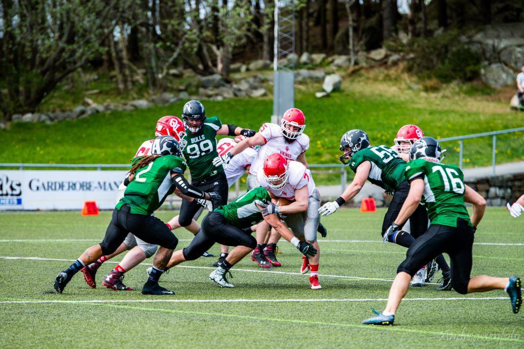 Bulls vs. Vikings 018